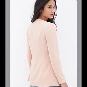 New Forever 21 blazer nude sz Small